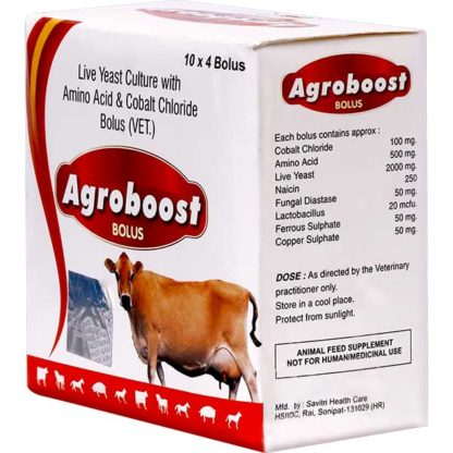 Agroboost Bolus - live yeast culture