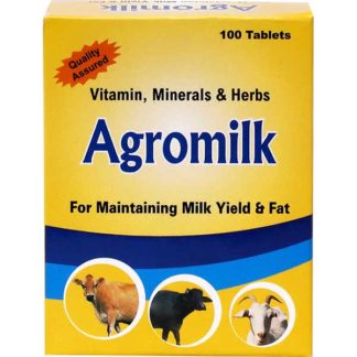 Agromilk tab for maintaining milk yield and fat