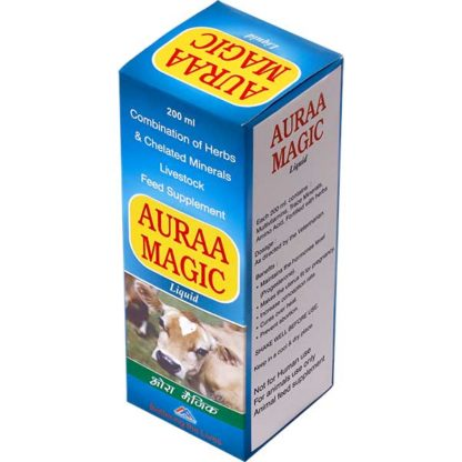Aura Magic - animal feed supplement liquid