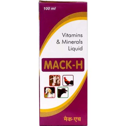 Mack-H VItamins and Minerals Liquid for animals