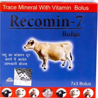 Recomin 7 Bolus with trace minerals